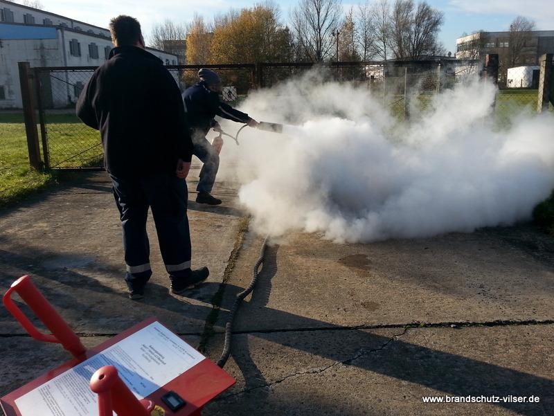 prüfung von feuerlöschern
